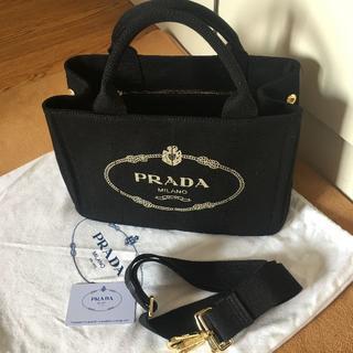 0593a5af8bfa PRADA - プラダ 2way カナパ トートバッグ デニムの通販 by キシ's shop ...
