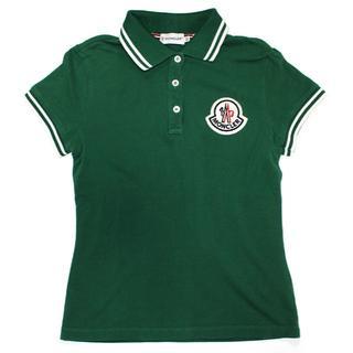 モンクレール(MONCLER)の  国内正規品MONCLERモンクレール ポロシャツ/グリーンXS (ポロシャツ)
