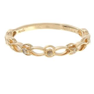 アガット(agete)のagatte ダイヤモンド ピンキーリング(リング(指輪))