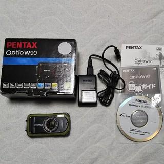 ペンタックス(PENTAX)の防水 対衝撃 防寒 デジカメ PENTAX(RICOH) W90(コンパクトデジタルカメラ)