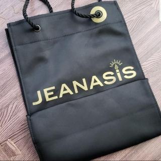 ジーナシス(JEANASIS)のJEANASIS☆限定ショッパー☆黒サテン地(ショップ袋)