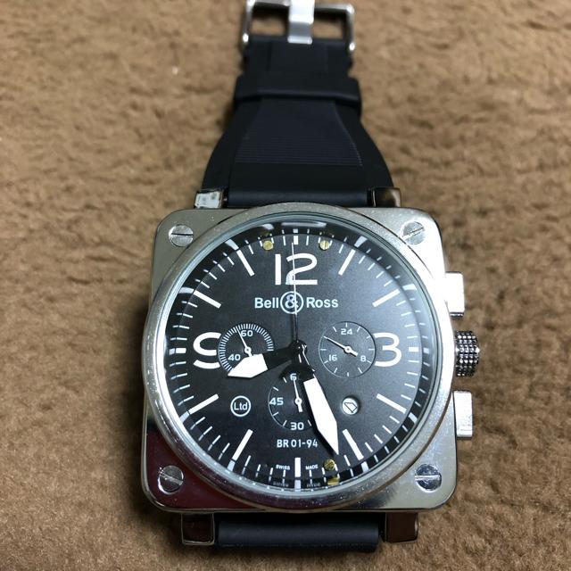Bell & Ross - メンズ腕時計 ミリタリーウォッチの通販 by one-eight|ベルアンドロスならラクマ