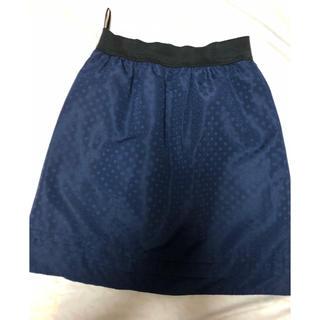 グローブ(grove)のグローブ★ネイビーのスカート・M(ミニスカート)