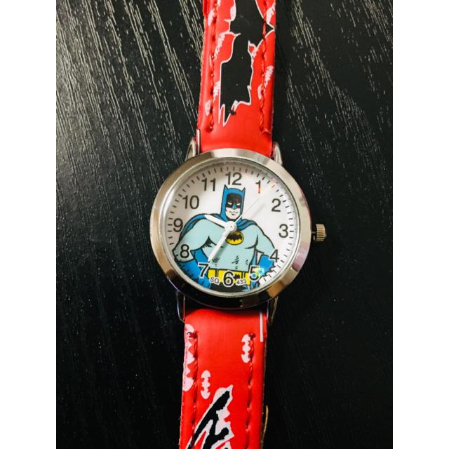 スーパー コピー クロノスイス 時計 専売店NO.1 / バットマン 腕時計 時計 キッズウォッチ レッドの通販 by マカロン♡RM|ラクマ