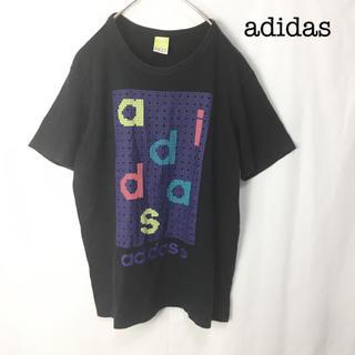 アディダス(adidas)のadidas アディダス ドット柄 Tシャツ Lサイズ 半袖カットソー(Tシャツ/カットソー(半袖/袖なし))