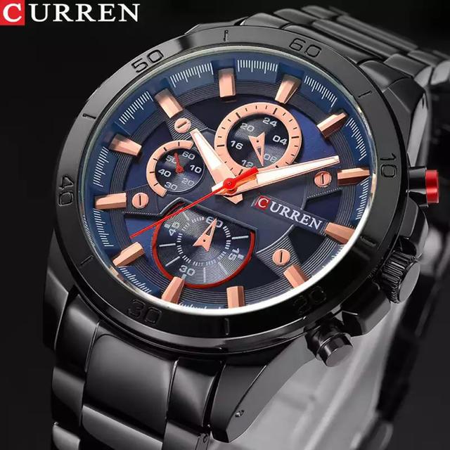 オメガシーマスター旧モデル | [新品・未使用] Curren カジュアル メンズ クォーツ腕時計の通販 by LBG's shop|ラクマ