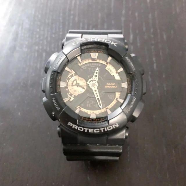 オメガ 時計 偽物見分け方 、 G-SHOCK - G-SHOCK 腕時計 GA-110RG-1AJFの通販 by   lichyi's shop|ジーショックならラクマ