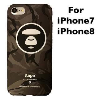アベイシングエイプ(A BATHING APE)のiPhone8 & iPhone7ケース APE エイプ (iPhoneケース)