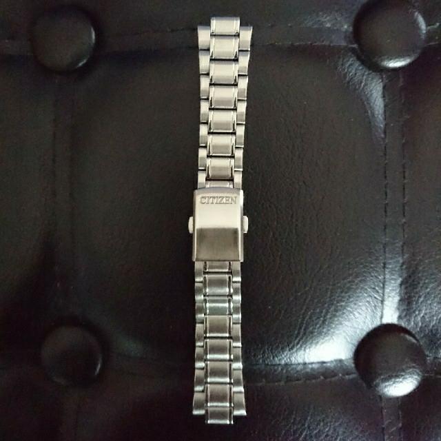 クロノマット 中古 - CITIZEN - シチズン時計用ステンレスベルト三折れの通販 by ノーマル's shop|シチズンならラクマ