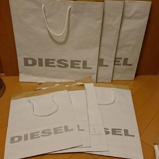 ディーゼル(DIESEL)のDIESEL ショッパー 7枚 ショップ袋 ディーゼル(ショップ袋)