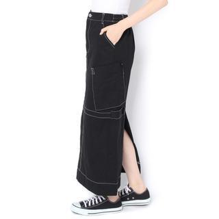 WHO'S WHO - 新品♡定価7452円 ロング タイトスカート ブラック 大幅お値下げ❣️