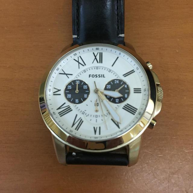 エンポリオアルマーニ 時計 偽物販売 、 FOSSIL - フォッシル クオーツ時計の通販 by 828's shop|フォッシルならラクマ