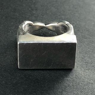 クロムハーツ(Chrome Hearts)のCHROME HEARTS クロムハーツ フレアニー バー リング 指輪 13号(リング(指輪))