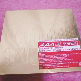 トリプルエー(AAA)のAAA GOLD SYMPHONY 初回生産限定 オリジナルコースター付き(ポップス/ロック(邦楽))
