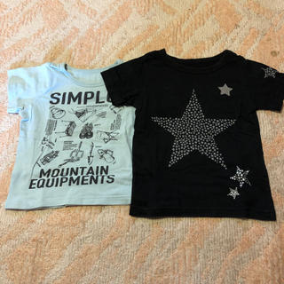 ベルメゾン(ベルメゾン)のTシャツ2枚セット☆size100(Tシャツ/カットソー)