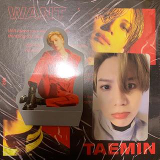 シャイニー(SHINee)のテミン TAEMIN 2nd ミニアルバム『WANT』(K-POP/アジア)