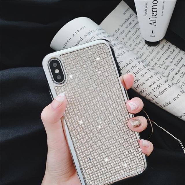 iPhoneX  iPhoneXS専用ケース キラキラの通販 by セール実施中 |ラクマ