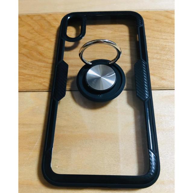 iphone8 プラス ケース リング 付き 、 iPhone - 【新品】iphone Xr ケース リング付きの通販 by りんたん's shop|アイフォーンならラクマ
