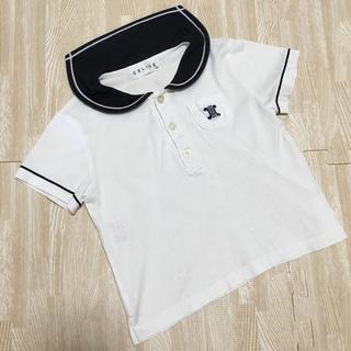 セリーヌ(celine)のセリーヌ セーラーシャツ トップス ホワイト ブラック 100(Tシャツ/カットソー)