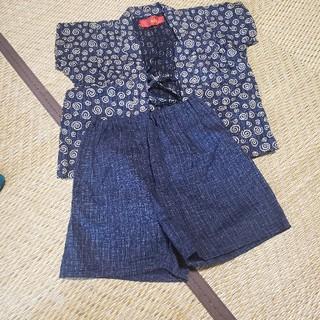 ニシマツヤ(西松屋)の子供 祭 甚兵 110(甚平/浴衣)