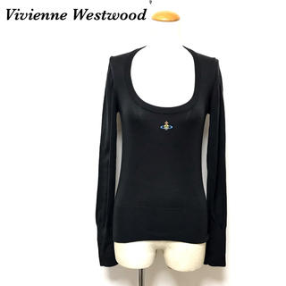 ヴィヴィアンウエストウッド(Vivienne Westwood)のVivienne Westwood ヴィヴィアン ウエストウッド 刺繍ロゴ(ニット/セーター)