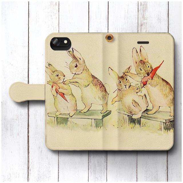 iphone x カバー ケース 、 ピーターラビット スマホケース手帳型 全機種対応 挿絵 レトロの通販 by NatureMate's shop|ラクマ