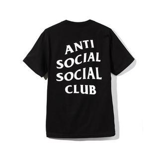 アンチ(ANTI)のL 新品【Anti Social Social Club】Tシャツ BLACK(Tシャツ/カットソー(半袖/袖なし))