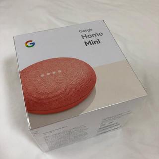 アイフォーン(iPhone)の新品 google home mini グーグルホームミニ(スピーカー)