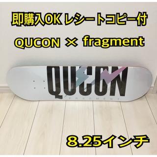 シュプリーム(Supreme)の8.25インチ キューコン フラグメントデザイン スケボー デッキ(スケートボード)