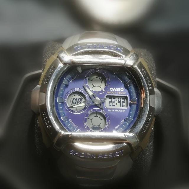 G-SHOCK - ジーショック メタル&ブルーの通販 by トリー's shop|ジーショックならラクマ