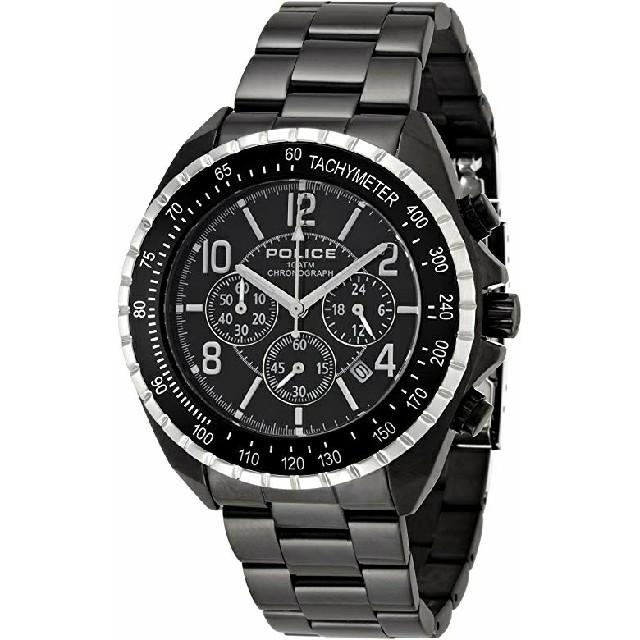 POLICE - POLICE ポリス 腕時計 12545JSBS-02M ブラックの通販 by  miro's shop|ポリスならラクマ