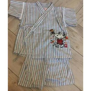 スヌーピー甚平 80(甚平/浴衣)