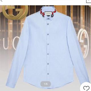 グッチ(Gucci)のGUCCI オックスフォード シャツ スネーク(シャツ)