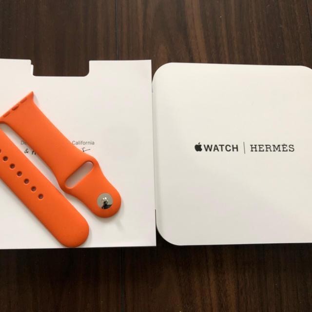 Hermes - HERMES Apple Watch ラバーバンドの通販 by cotaloo|エルメスならラクマ