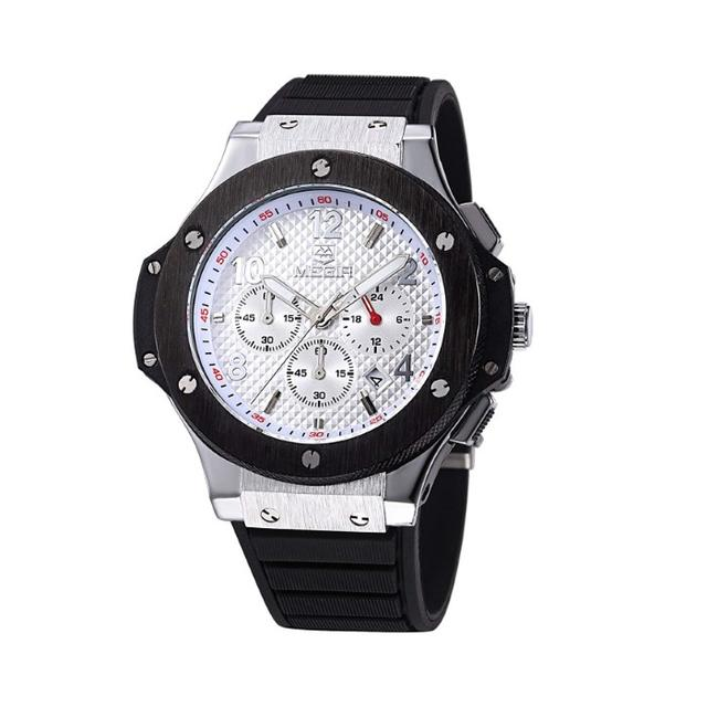 ロレックス 時計 コピー 品質保証 | クロノグラフ レーシングウォッチ Black&Whiteの通販 by トモ's shop|ラクマ