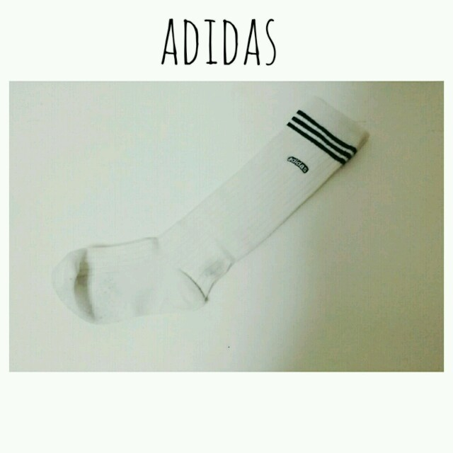adidas(アディダス)のadidas ロゴソックス レディースのレッグウェア(ソックス)の商品写真