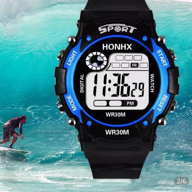 ロレックス スーパー コピー 時計 楽天 | レロジオ スポーツ男性 デジタル時計男性 青の通販 by baki's shop|ラクマ