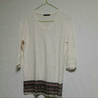 ハレ(HARE)の【42】HARE 七分丈シャツ S(Tシャツ/カットソー(七分/長袖))
