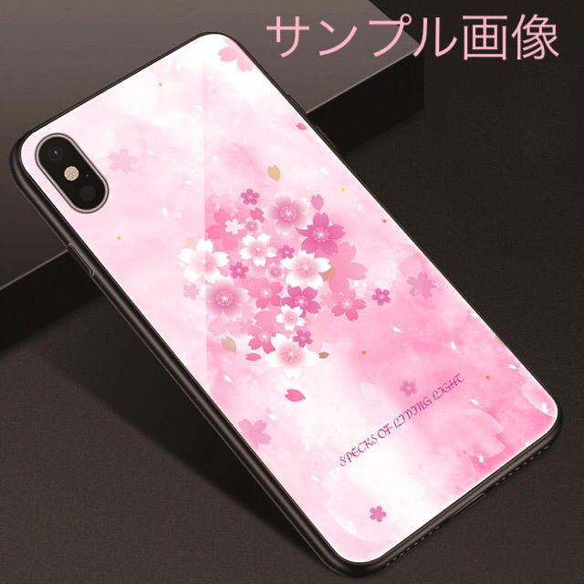 アイフォンXR iPhoneXRケース☆桜☆サクラ☆さくら☆送料無料☆淡いピンクの通販 by ロゴ's shop|ラクマ