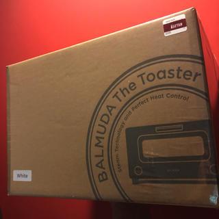 バルミューダ(BALMUDA)の未開封 BALMUDA The Toaster K01E-WS ホワイト(調理道具/製菓道具)