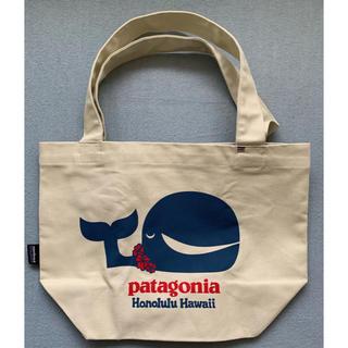 パタゴニア(patagonia)の【ハワイ限定 新品】パタゴニア エコバッグ トートバッグ クジラ(トートバッグ)