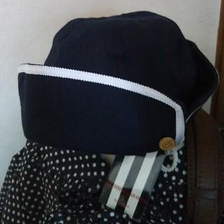 ヴァレンティノガラヴァーニ(valentino garavani)のヴァレンチノ・ガラバーニ 新品未使用タグ付き 日本製 帽子 52㎝(帽子)