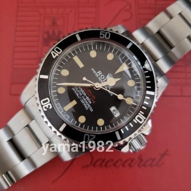 クロノスイス 時計 スーパー コピー 税関 、 ROLEX - Ref1665赤シード  ビンテージカスタムの通販 by yama1982's shop|ロレックスならラクマ