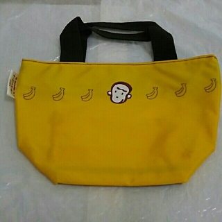 エヌイーシー(NEC)の非売品  サル  猿  NEC バサーるでござーる  黄色  色  トートバッグ(ノベルティグッズ)