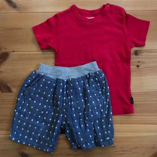 ベルメゾン(ベルメゾン)のTシャツ&ハーフパンツ 90(Tシャツ/カットソー)