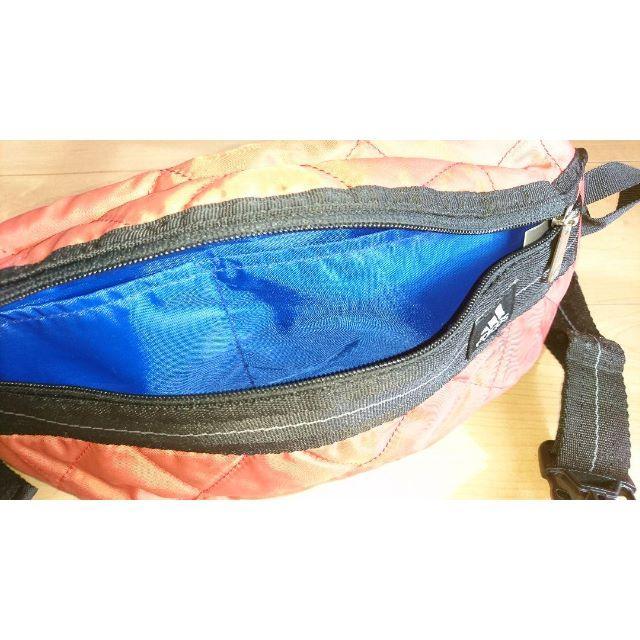 adidas(アディダス)のアディダス ウエストバッグ オレンジ系 メンズのバッグ(ウエストポーチ)の商品写真