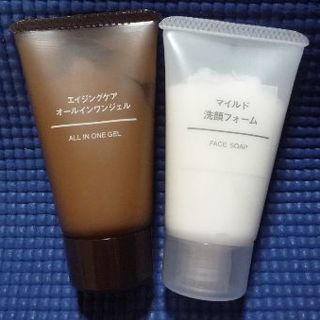 ムジルシリョウヒン(MUJI (無印良品))の無印良品  オールインワンジェル & 洗顔フォーム (サンプル/トライアルキット)