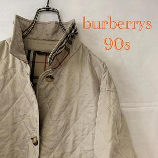 バーバリー(BURBERRY)のバーバリー burberrys 90s 希少 キルティングジャケット ノバ(テーラードジャケット)