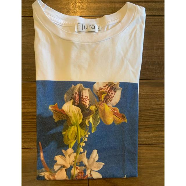 Drawer(ドゥロワー)の村上沙織さん着用★drawer購入FjuraプリントT★ブラミンク  レディースのトップス(Tシャツ(半袖/袖なし))の商品写真