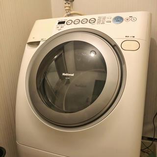 パナソニック(Panasonic)のナショナル製 ドラム式乾燥機付き洗濯機 NA-V80(洗濯機)